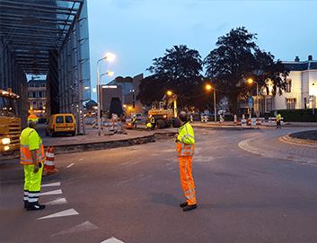 Uitvoering tijdelijke verkeersmaatregelen