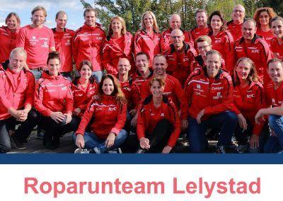 Sponsering Roparun Team Lelystad